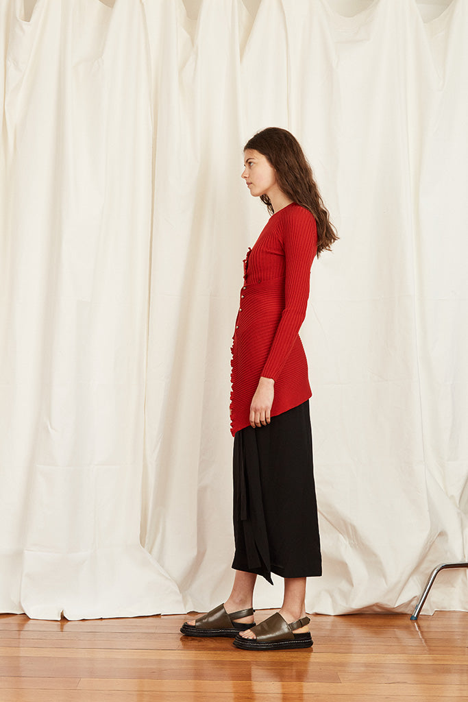 Berlin Top - Red - Wynn Hamlyn — Shop