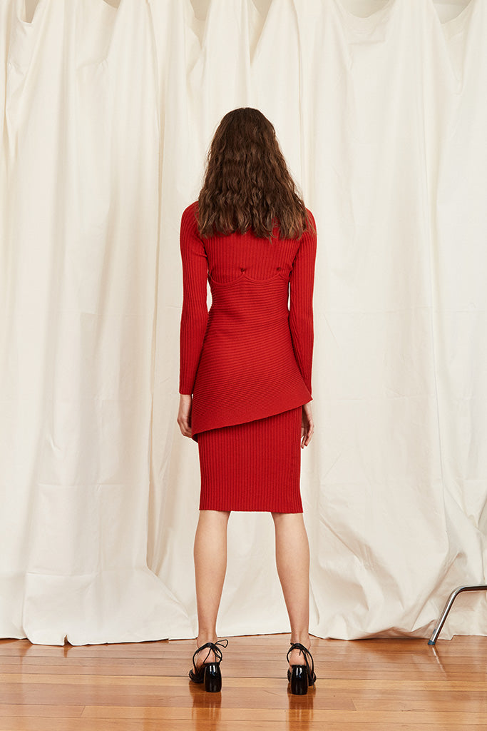 Berlin Dress – Red - Wynn Hamlyn — Shop