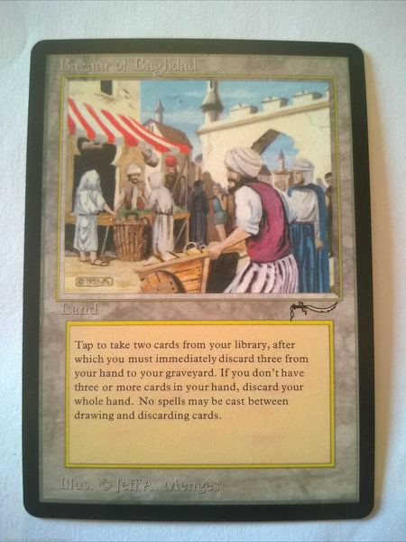 BAZAAR OF BAGHDAD ARABIAN NIGHTS MTG Magic The Gatering Perfect Proxy