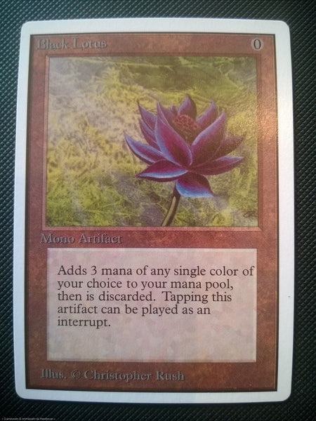 BLACK LOTUS UNLIMITED MTG Magic The Gatering Perfect Proxy