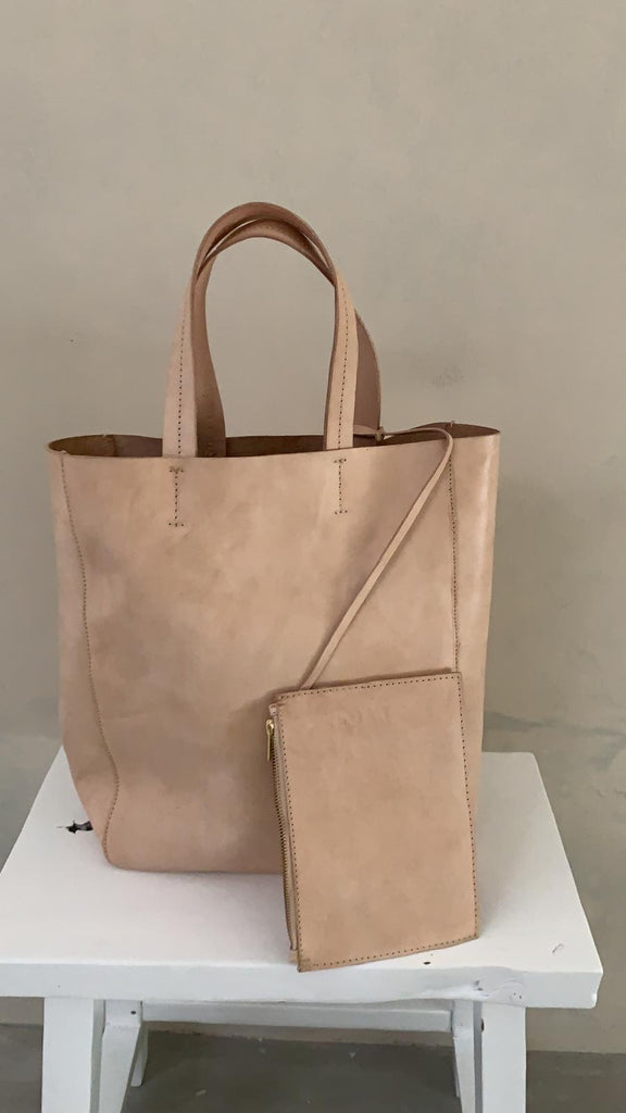LEATHER COLLECTION - tote bag SENANG