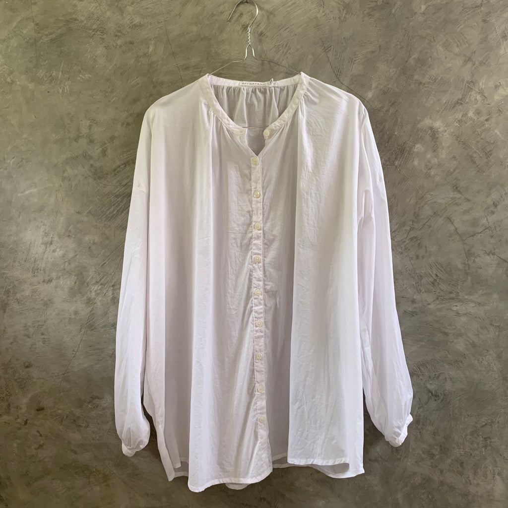 TERLALU [ too ]  - handdyed 100% cotton oversize blouse