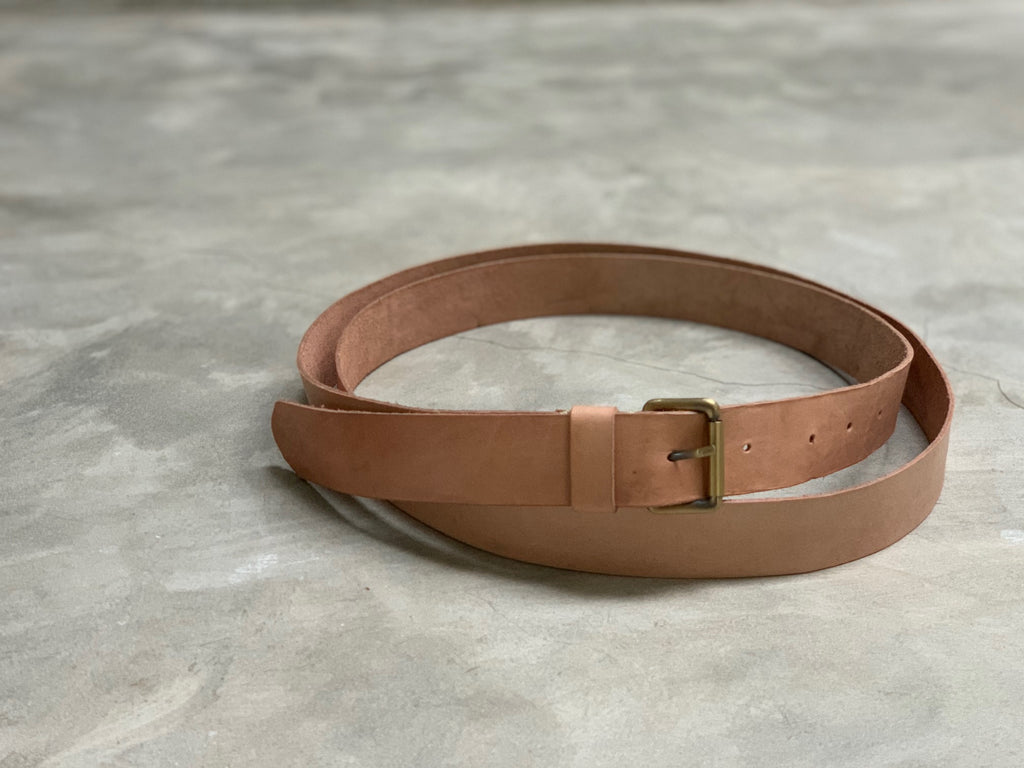 SABUK - leather belt double wrap