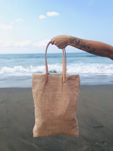 KECIL [small] - stonewashed tote bag