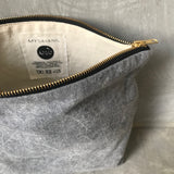 INDAH [beautiful] - small cosmetic bag stonewashed