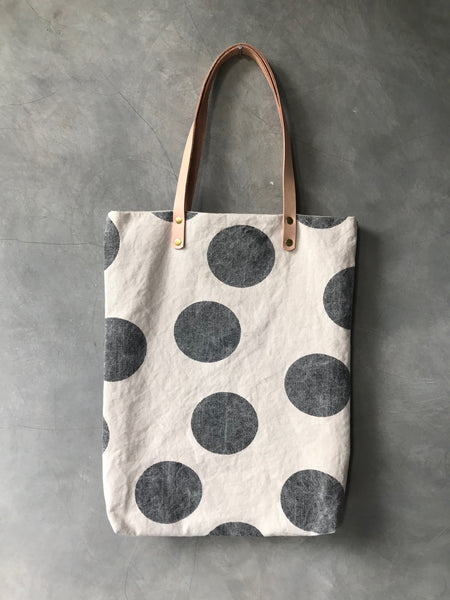 KECIL [small] - handprinted tote bag