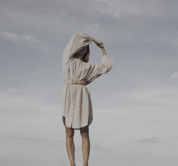 BAYU  [ wind ]  - handmade linen dress