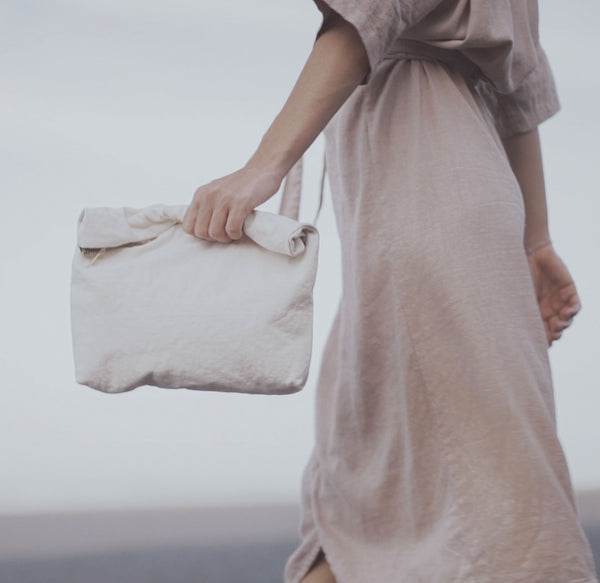 INDAH [beautiful] - big clutch stonewashed
