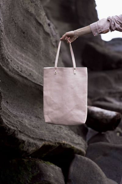 LEATHER COLLECTION - KECIL [small] tote bag