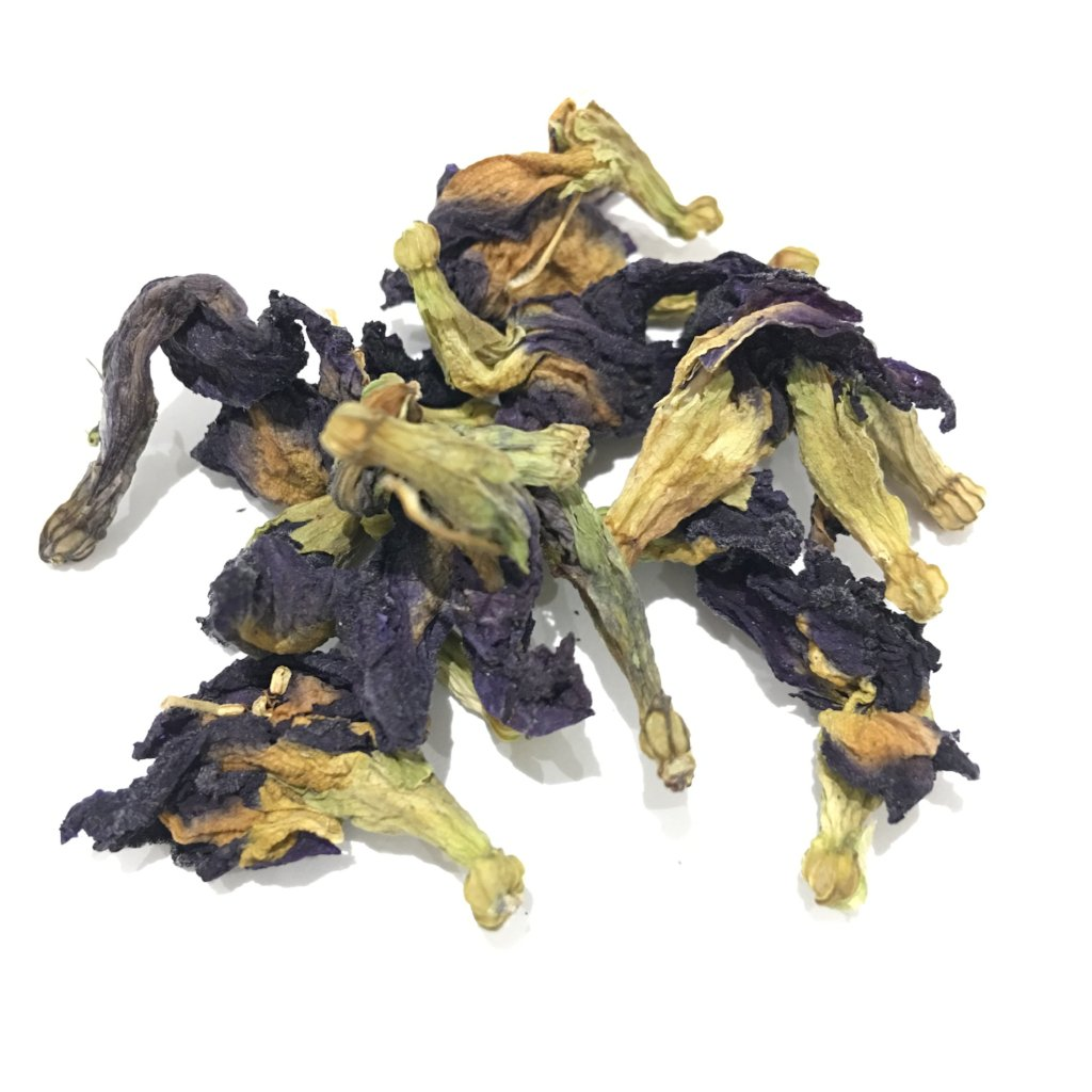 Butterfly Pea Flowers, whole dried flowers