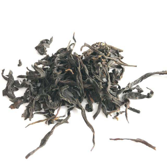 Unsmoked Lapsang Souchong dry leaf