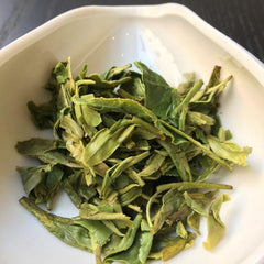 Long Jing wet leaf