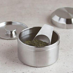 Kinto Leaves to Tea Canister