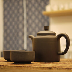 Yixing Teapot 300ml & Cups