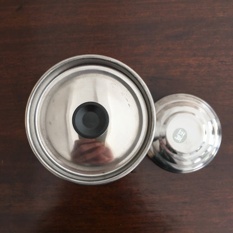 Decorative Stainless Steel Canister