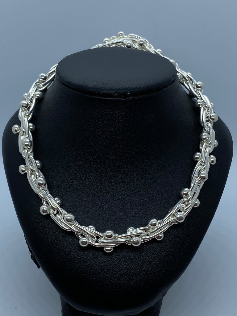 Sterling silver British made chain