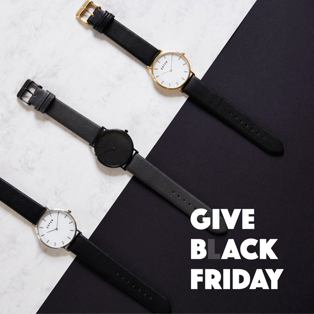 We are giving back this Black Friday!-Votch