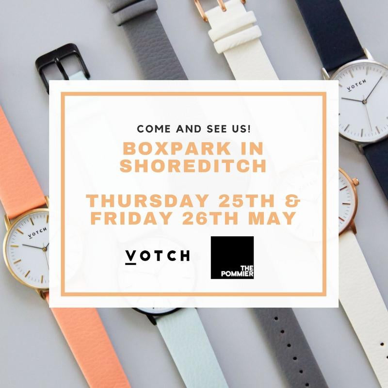 COME SEE US AT BOXPARK THIS THURSDAY AND FRIDAY!-Votch