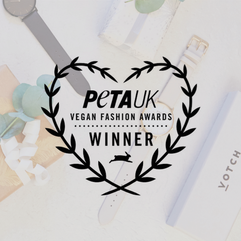 We won a PETA award!-Votch