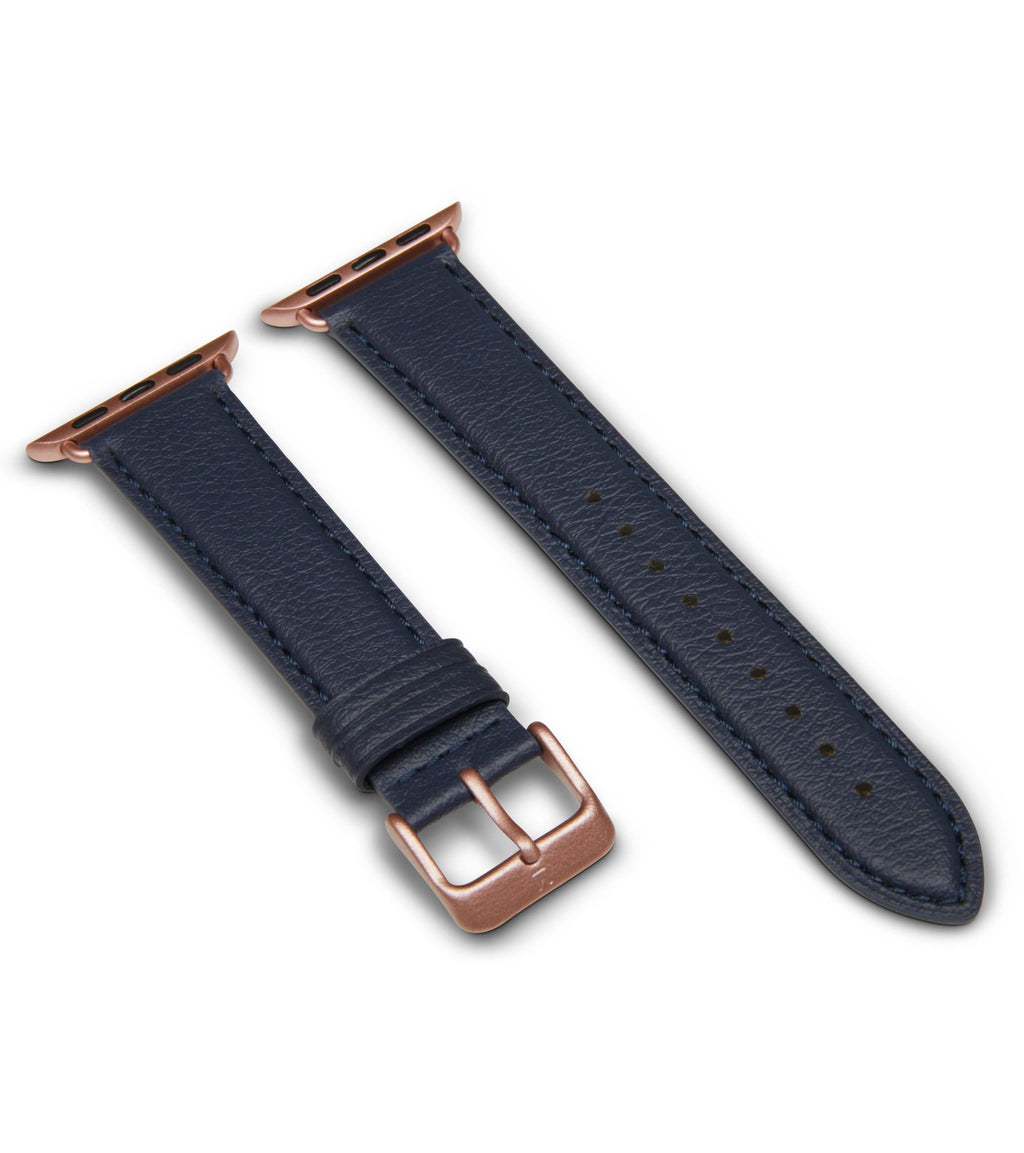 Navy & Rose Gold | Apple Watch