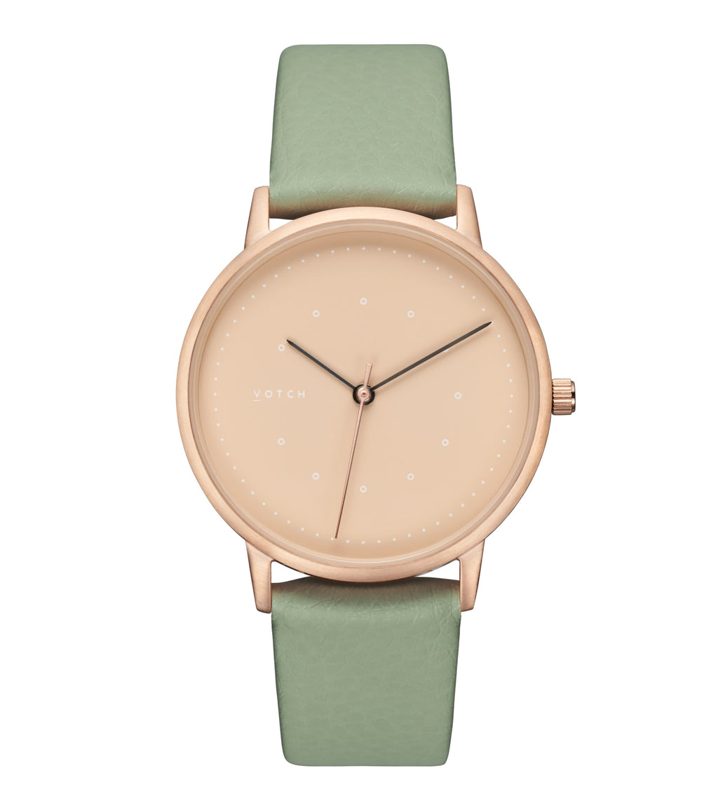 Rose Gold & Sage with Taupe | Lyka