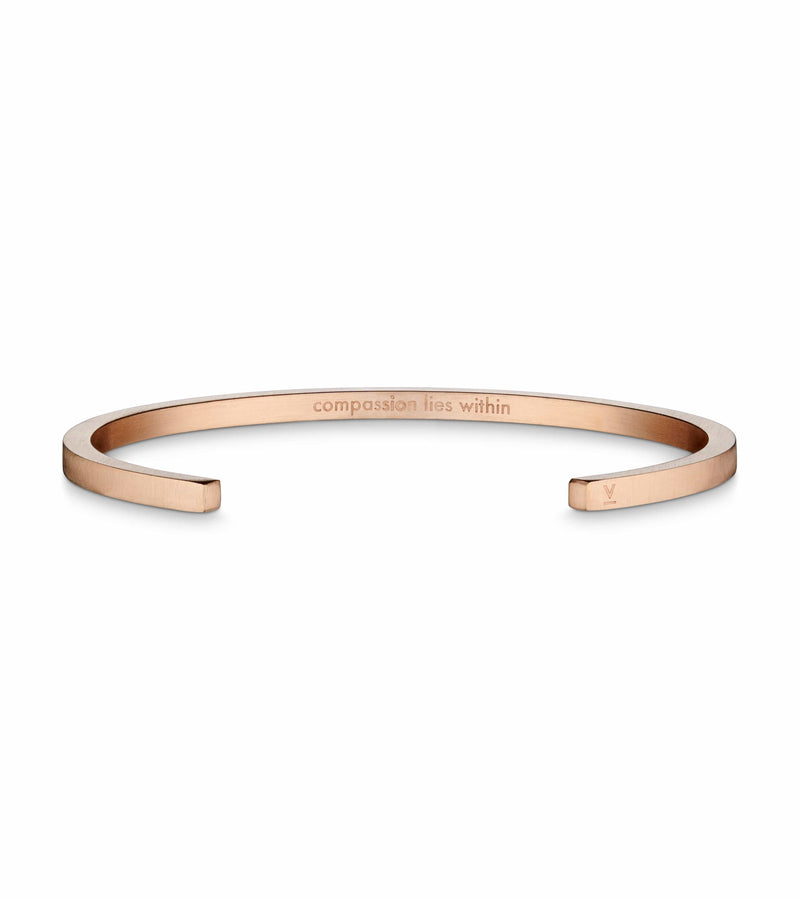 ROSE GOLD BANGLE | ILSE COLLECTION