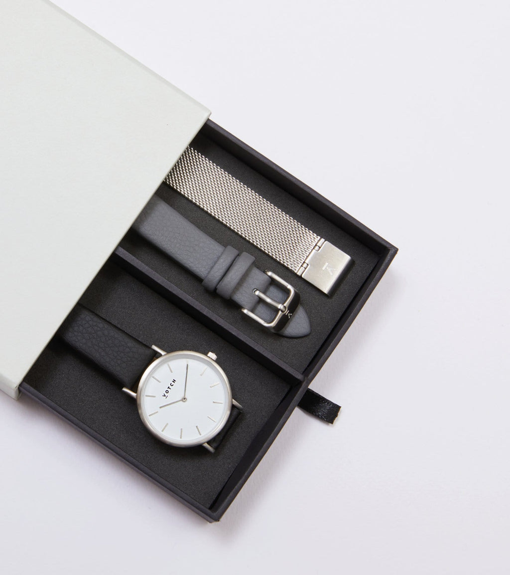 Silver & Black | Classic Petite Gift Set