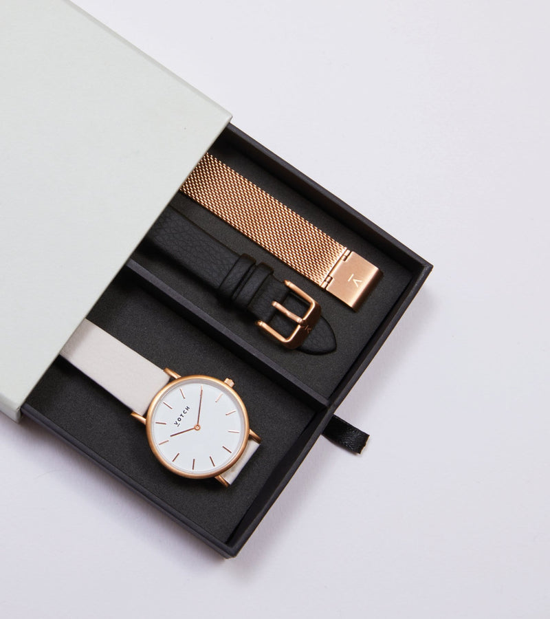 Rose Gold & Light Grey | Classic Petite Gift Set