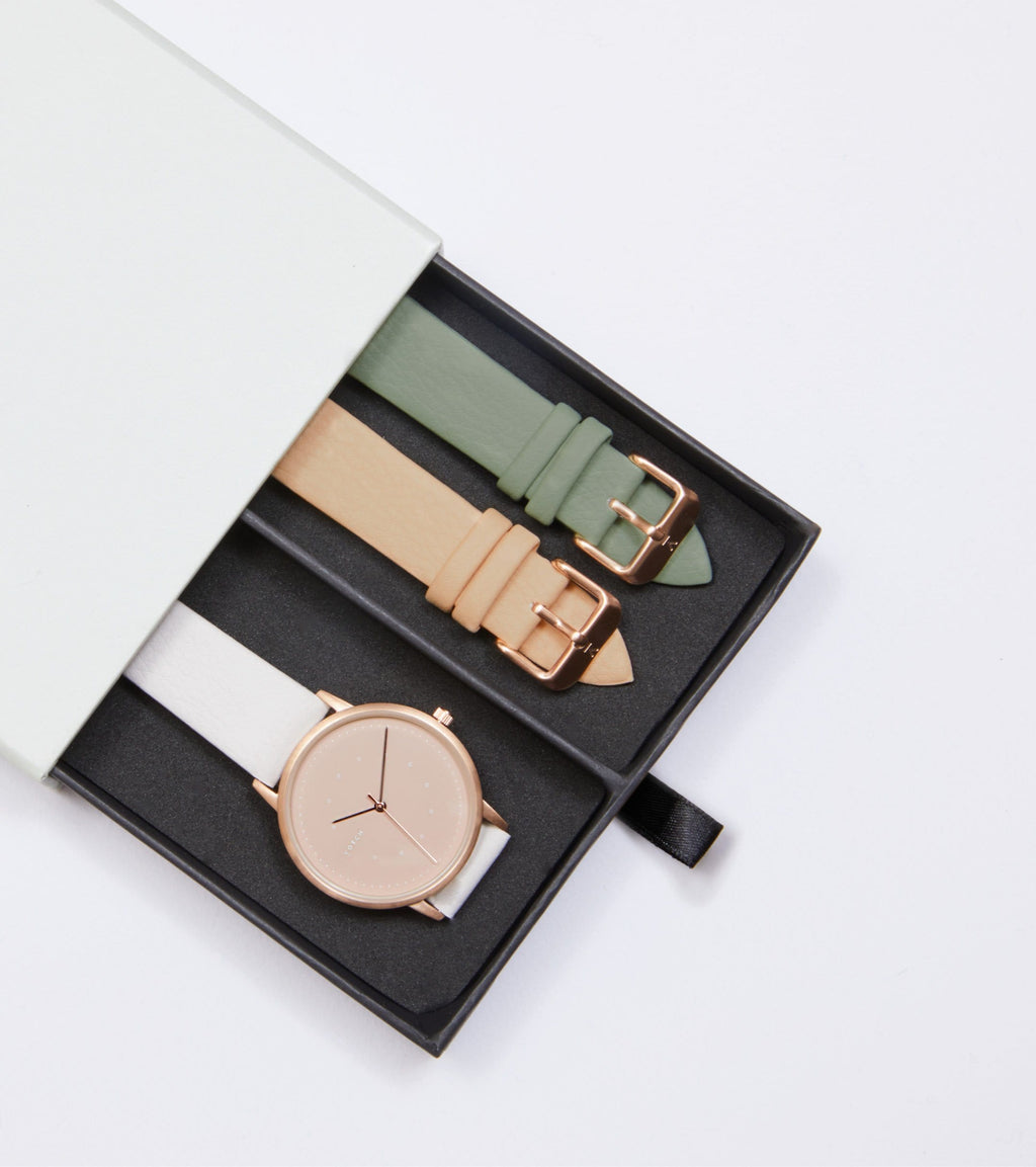 Rose Gold & Cloudy Grey with Taupe | Lyka Gift Set