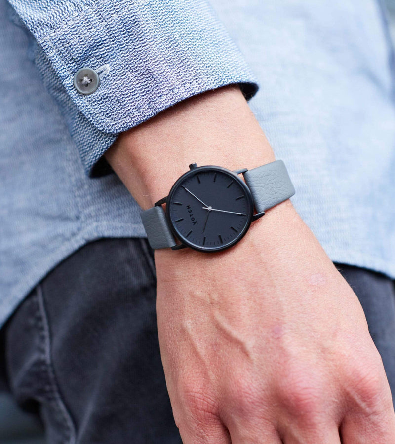 Black & Slate Grey with Black | Moment