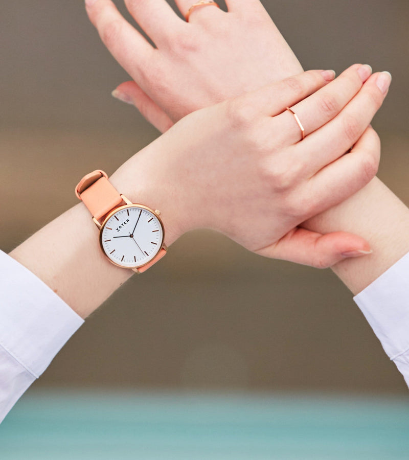 Rose Gold & Coral | Moment