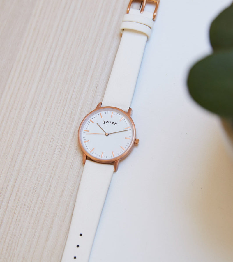Rose Gold & Off White | Moment
