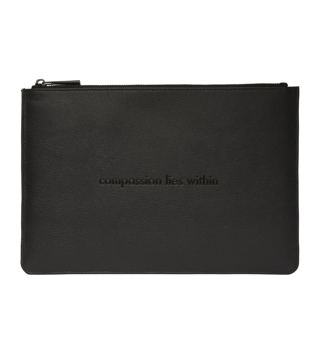 All Black Pouch | Classic Essentials
