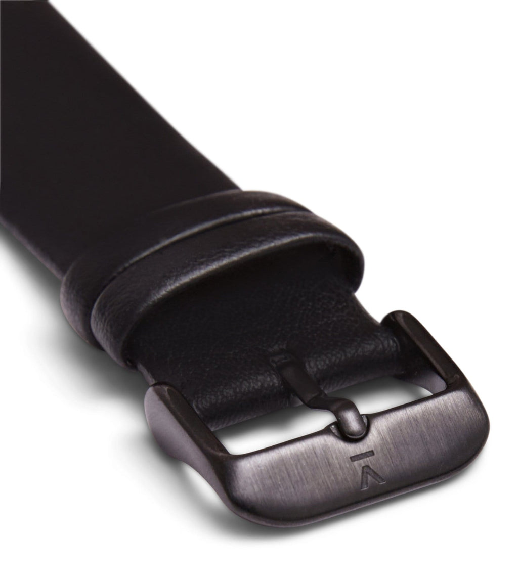 Black with brushed black buckle | 20mm