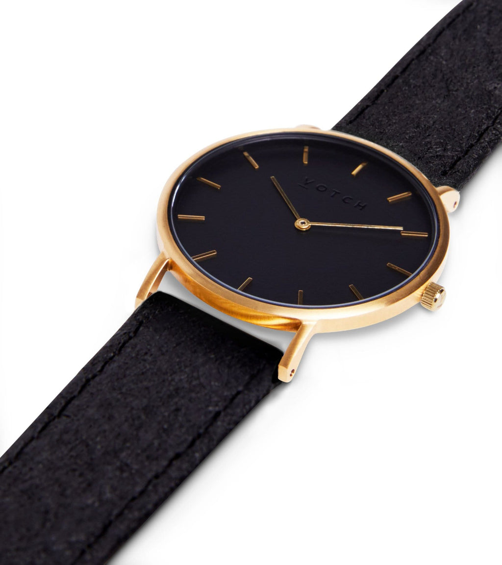 Gold & Piñatex With Black | Classic