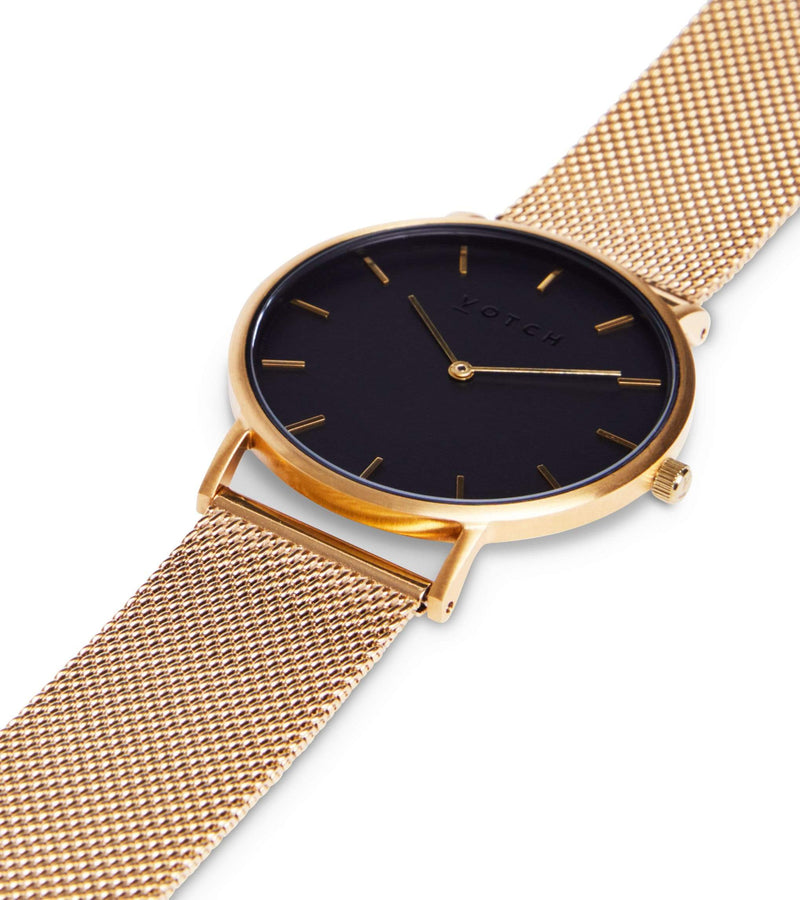 Gold & Gold with Black | Mesh Classic