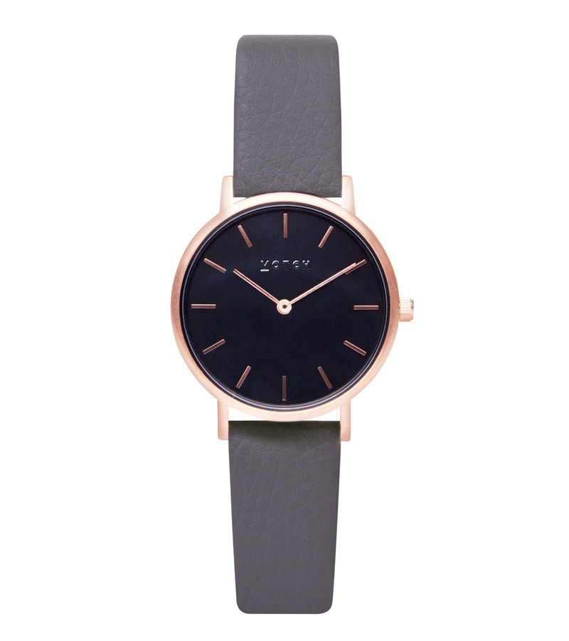 Rose Gold & Slate Grey with Black | Petite