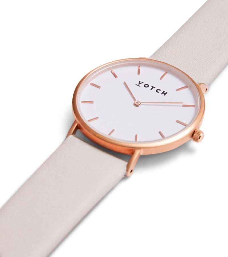 Rose Gold & Light Grey | Classic