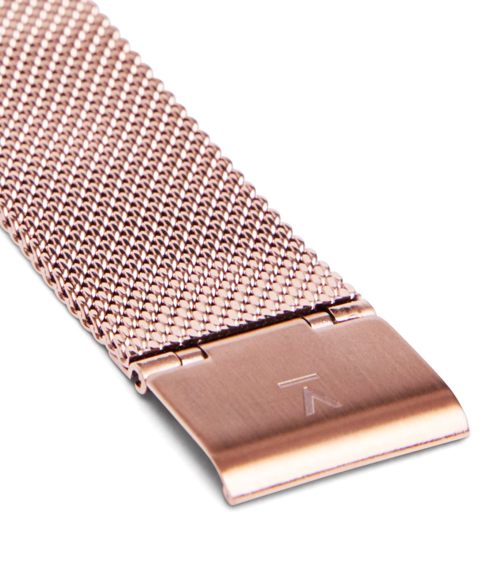 Rose Gold Mesh | 16mm