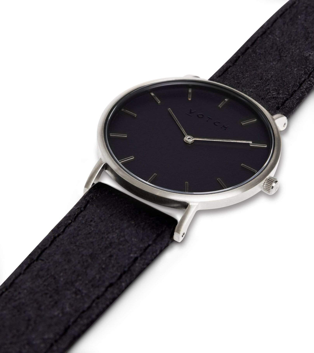 Silver & Piñatex With Black | Classic