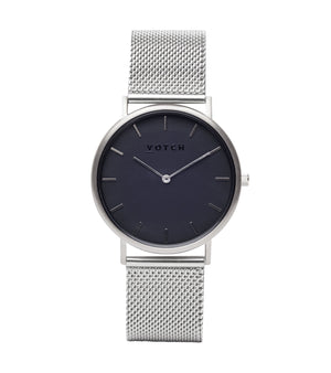 Silver & Silver with Black | Mesh Classic