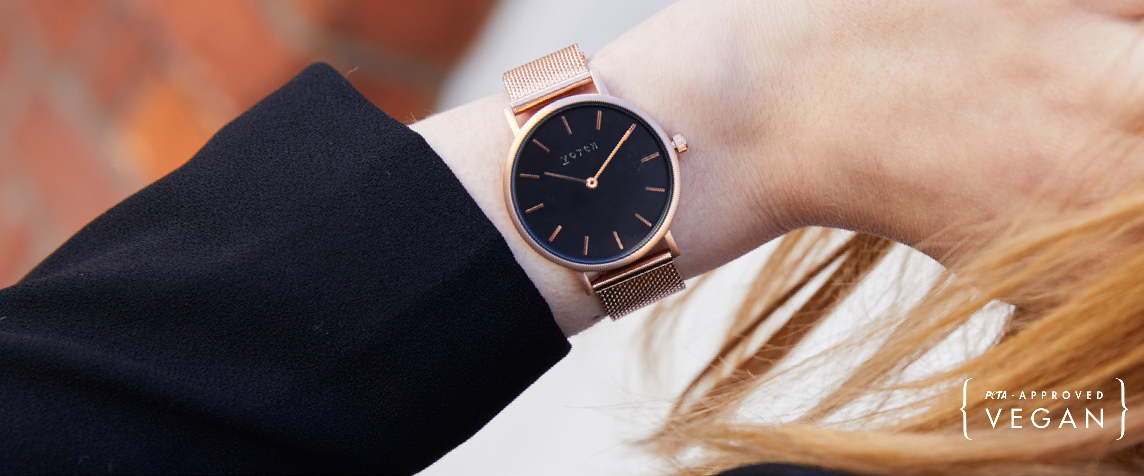 Votch vegan watches, cruelty-free jewelry