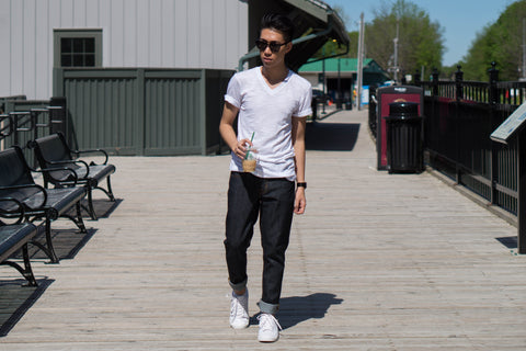 DenimKratos Marc Gamboa Astikos Raw Slim Fit Jean