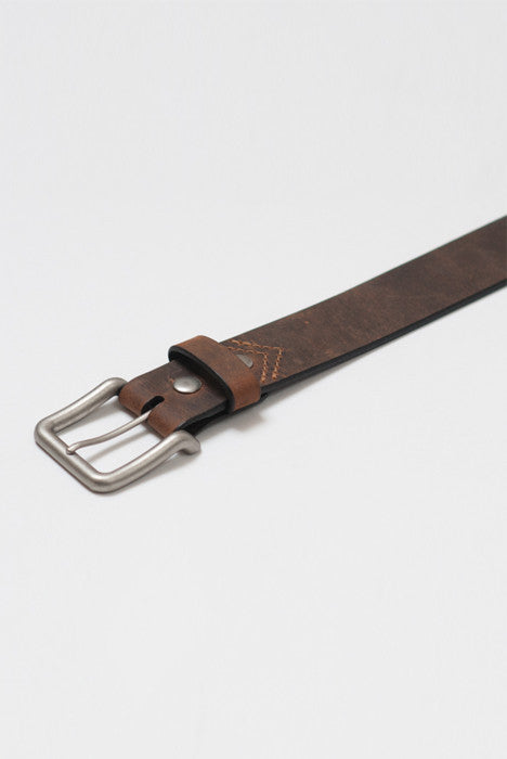 Back in the Saddle Brown Leather Belt - Belts - denimkratos