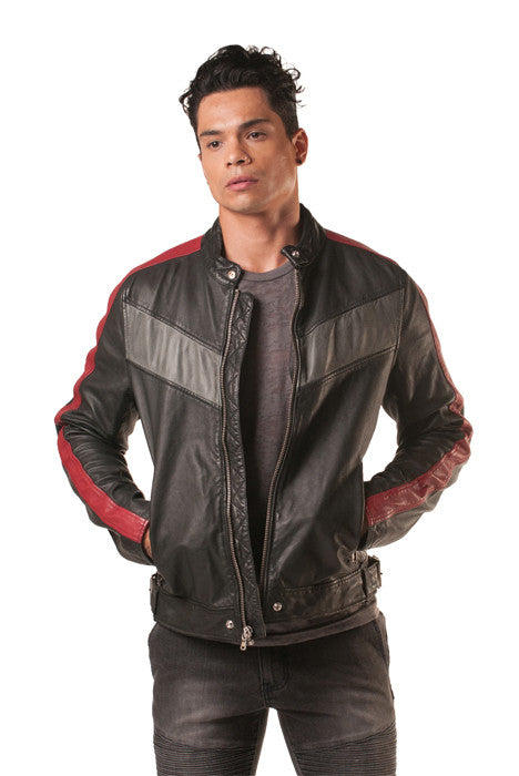 Sidero Moto Leather Jacket - Leather Jacket - denimkratos