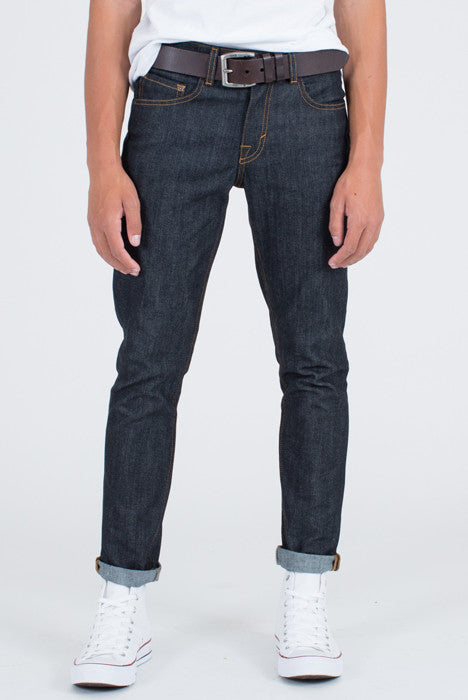Astikos Raw Slim Fit Indigo Denim Jeans - Denim Jeans - denimkratos