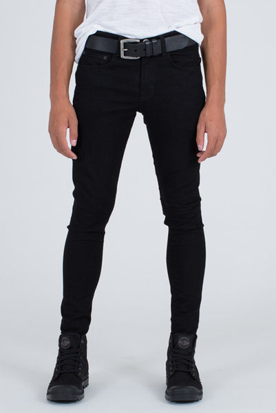 Marad Black Skinny Denim Stretch Jean - Denim Jeans - denimkratos