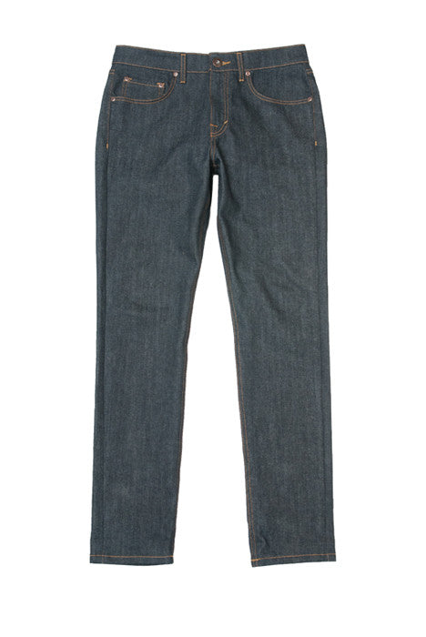 Astikos Raw Slim Fit Indigo Denim Jeans