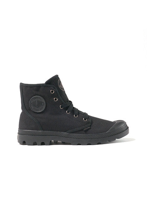 Palladium Pampa Hi Black / Black Men's Boots - Shoes - denimkratos