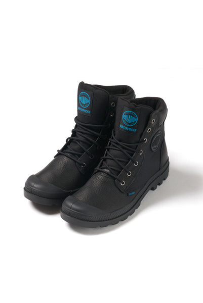Palladium Pampa Sport Cuff WPN Black Men's Boots - Shoes - denimkratos